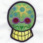 machine embroidery designs sugar skulls