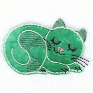 Applique cats dogs machine embroidery designs