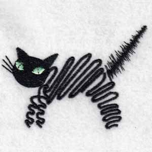 Naughty cats machine embroidery designs