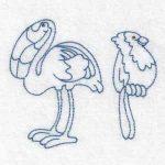 Machine Embroidery Design bird