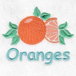 machine embroidery designs orange