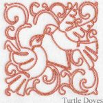 machine embroidery designs dove