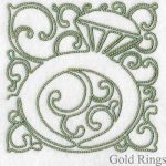 machine embroidery designs diamond ring