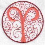 machine embroidery designs zodiac horoscope