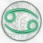 machine embroidery designs zodiac horoscope