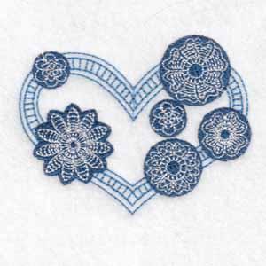 machine embroidery designs heart love