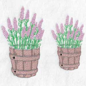machine embroidery designs lavender