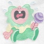 machine embroidery designs babies