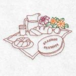 machine embroidery designs picnic