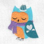 machine embroidery designs owl