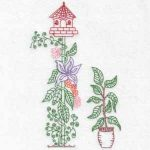 machine embroidery designs birdhouses
