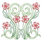 machine embroidery design flowers