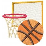 machine embroidery designs basketball