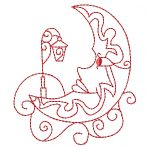 machine embroidery designs sun moon