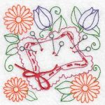 Machine embroidery designs pin cushion