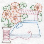 Machine embroidery designs iron