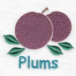 machine embroidery designs plum