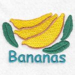 machine embroidery designs banana