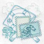 machine embroidery design fish