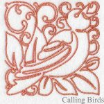 machine embroidery designs bird