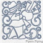 machine embroidery designs piper