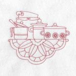 machine embroidery designs dishes