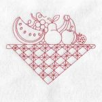 machine embroidery designs pear