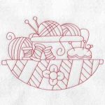 machine embroidery designs knitting
