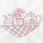 machine embroidery designs tea