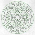 Machine embroidery designs knotwork