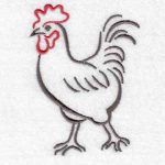 machine embroidery designs hen