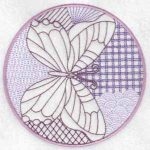 machine embroidery designs butterfly