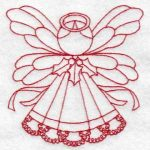 machine embroidery designs Christmas Angels