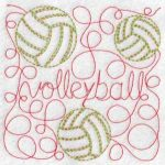 Machine embroidery designs quilt sports