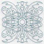 machine embroidery designs geometric squares