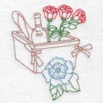 machine embroidery designs picnic