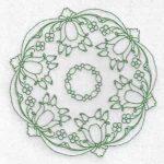 machine embroidery designs tulip quilt
