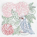 Machine Embroidery Designs Spring Birds