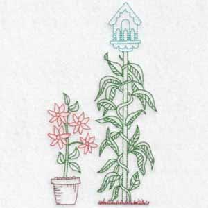 machine embroidery designs birdhouses
