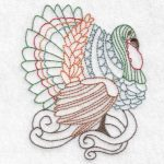 turkey machine embroidery design