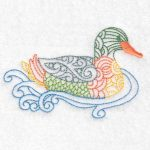 duck machine embroidery design