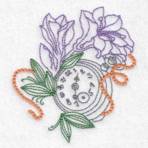 machine embroidery design watch