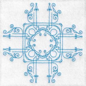 Symmetry machine embroidery designs