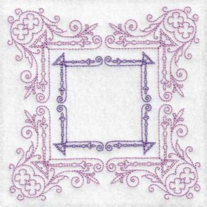 frame machine embroidery design