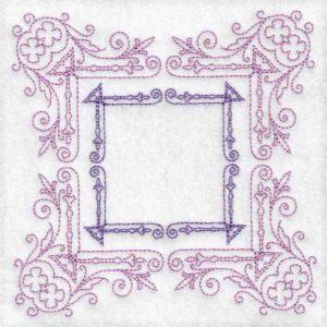 frame machine embroidery design