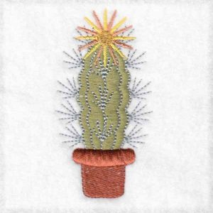 cactus machine embroidery designs