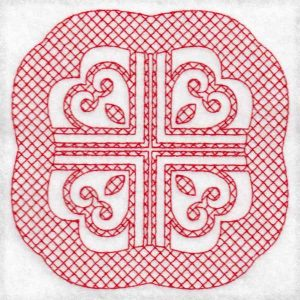 lattice geometric machine embroidery designs