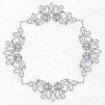 Frames machine embroidery designs