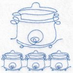 machine embroidery design cooker