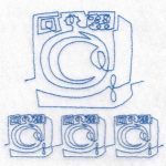 machine embroidery design washer